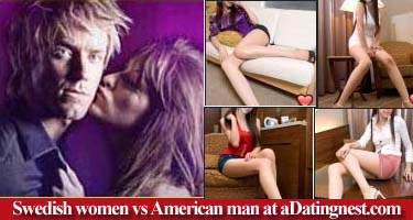 Swedish women and American men